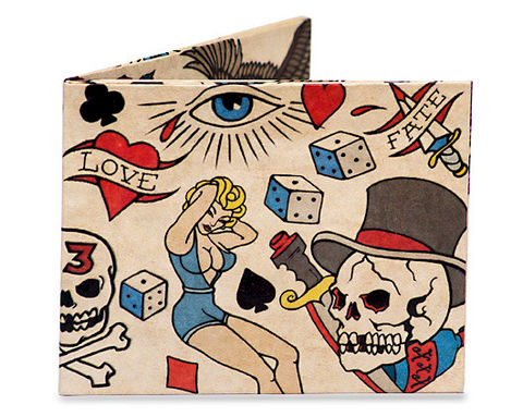 50%,OFF,Tattoo,Wallet,by,Mighty,Tattoo Wallet by Mighty Wallet