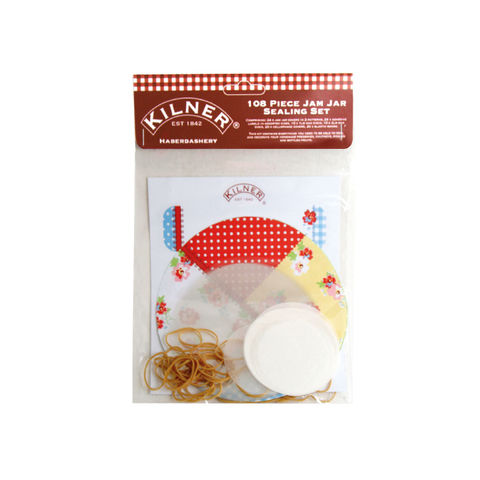 50%,OFF,108pc,Haberdashery,Jam,Jar,Sealing,Kit,by,Kilner,108pc Haberdashery Jam Jar Sealing Kit by Kilner