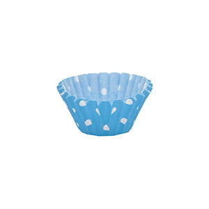 50% OFF Blue Polka Dot Mini Cupcake Cases X 100 by Mason Cash - product images  of