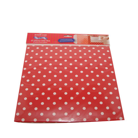 50%,OFF,12,(30cm),Red,Polka,Dot,Cake,Box,by,Mason,Cash,12 (30cm) Red Polka Dot Cake Box by Mason Cash
