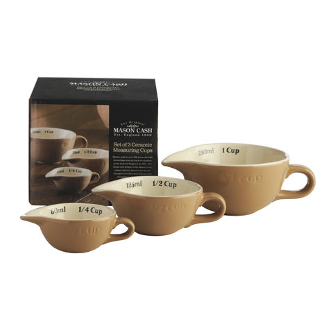 50%,OFF,Set,of,3,Ceramic,Measuring,Cups,by,Mason,Cash,Set of 3 Ceramic Measuring Cups by Mason Cash