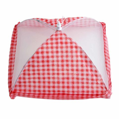 Gingham,Food,Cover,BLUE,or,RED,by,Tala,Gingham Food Cover BLUE or RED by Tala