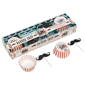 Barber Shop Moustache Baking Set by Rex International - product image
