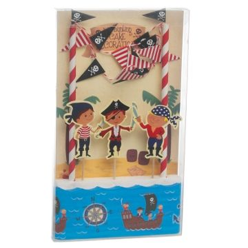 Pirate,Fun,Cake,Bunting,Set,by,Rex,International,Pirate Cake Bunting by Rex International