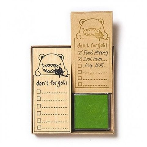 Don't,Forget,Stamp,Set,by,Noodoll,Don't Forget Stamp Set by Noodoll