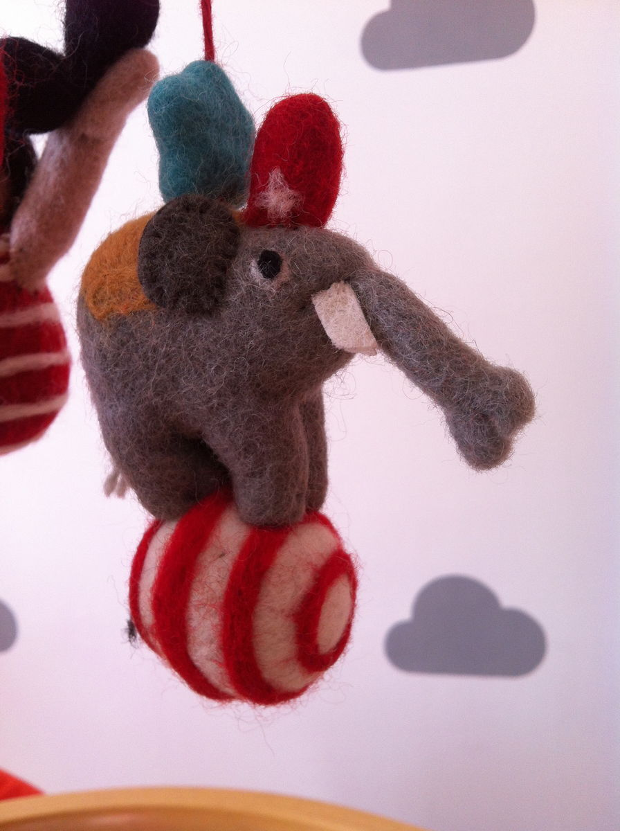 Felt Playroom Mobile - Circus - product images  of