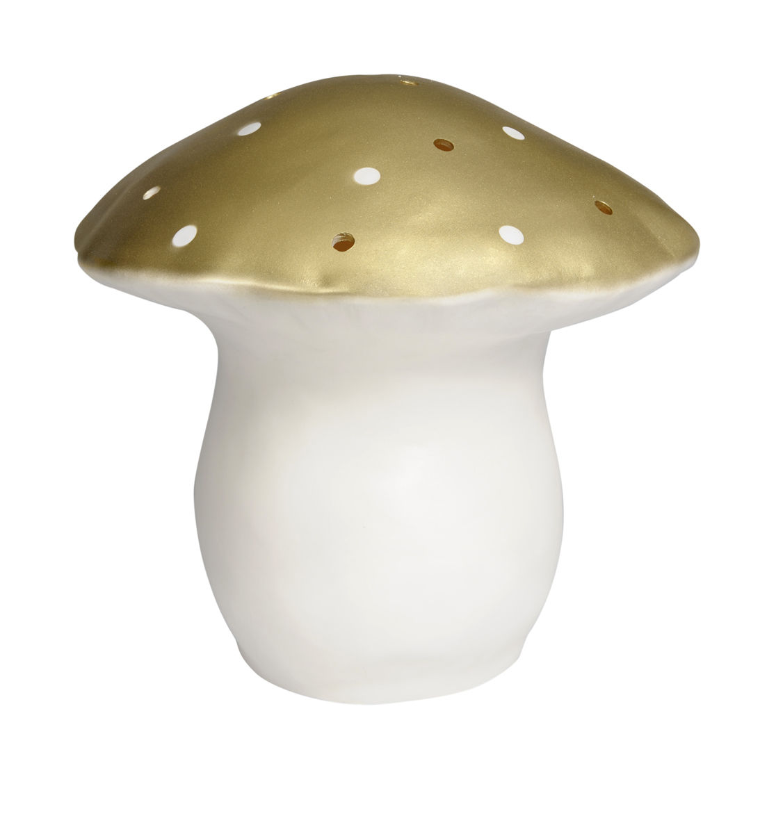 Large Mushroom Lamp GOLD by Heico - product images  of