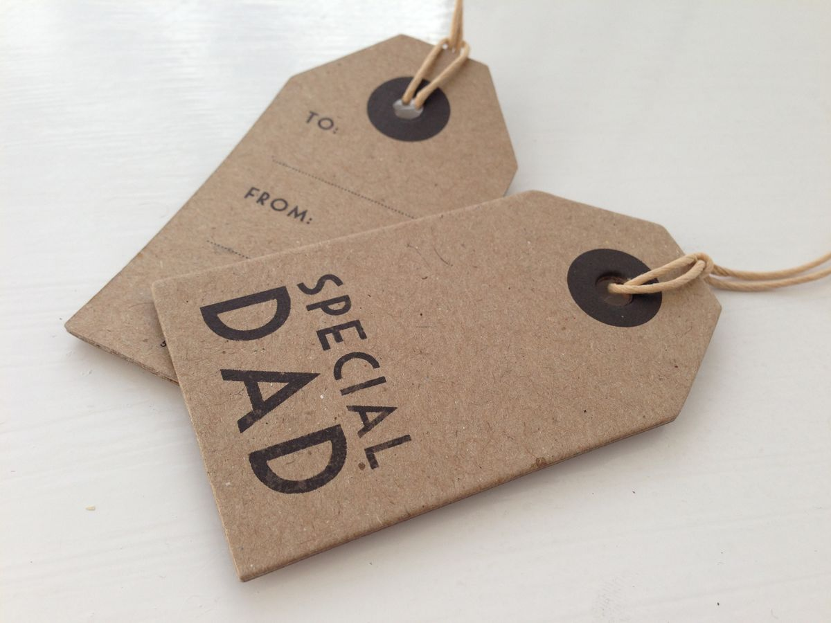 Vintage Style Brown Tag by East of India - product images  of