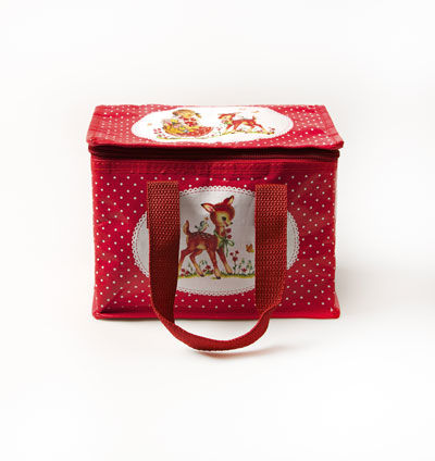 Heidi,Polka,Dot,Lunch,Bag,by,Sass,&,Belle,Heidi Polka Dot Lunch Bag by Sass & Belle