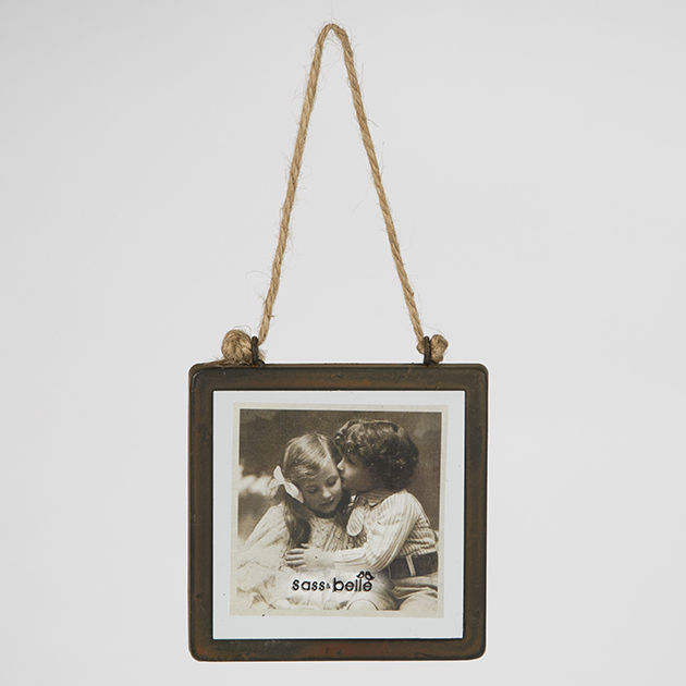 Industrial Finish Square Hanging Photo Frame by Sass & Belle - product images  of