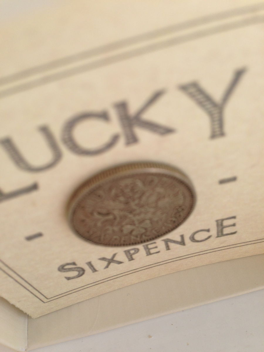 Don't Let the Weeds Grow Boxed Lucky Sixpence by East Of India - product images  of
