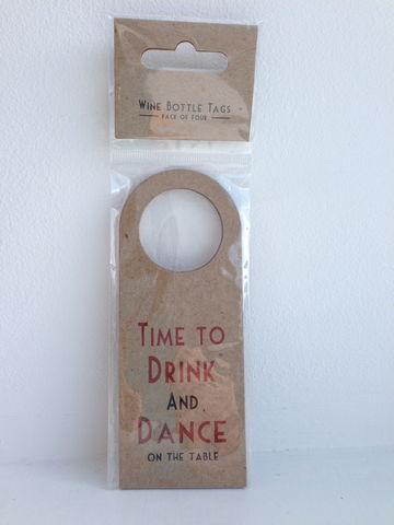 70%,OFF,Set,of,4,Wine,Bottle,Tags,by,East,India,Set of 4 Wine Bottle Tags by East of India