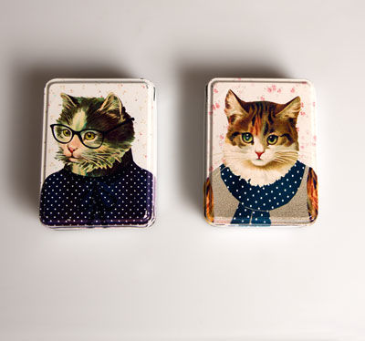 Dress,Up,Cat,Tin,by,Sass,&,Belle,Dress Up Cat Tin by Sass & Belle