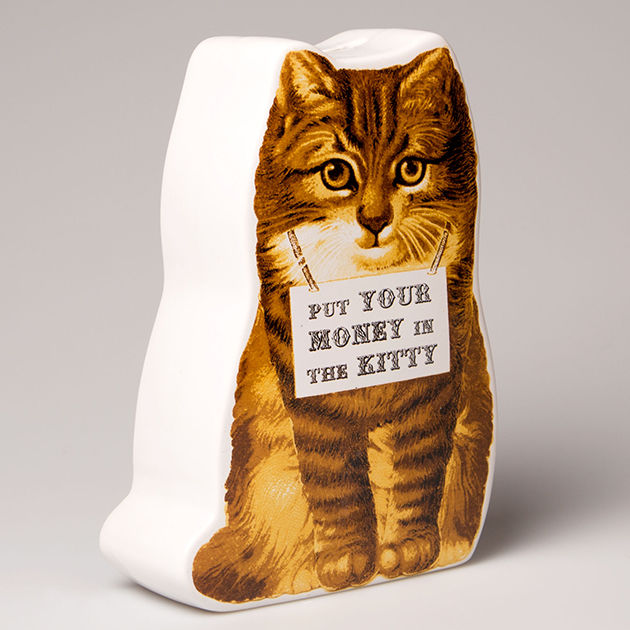 Kitty Money Pot by Sass & Belle - product images  of