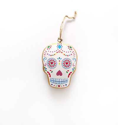 50%,OFF,Folk,Hanging,Skull,by,Sass,&,Belle,50% OFF Folk Hanging Dead Skull by Sass & Belle