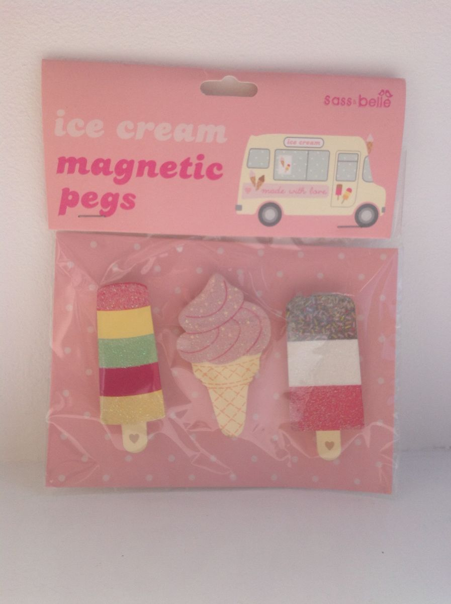 70% OFF Ice Lollies Magnetic Pegs by Sass & Belle - product image