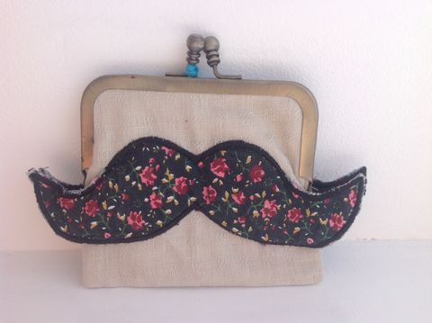 70%,OFF,Moustache,Purse,by,Sass,and,Belle,OFF Moustache Purse by Sass and Belle