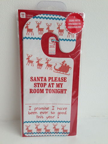 70%,OFF,Santa,Please,Stop,Door,signs,by,Talking,Tables,Santa Please Stop Door signs by Talking Tables