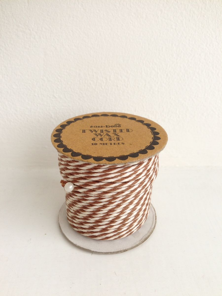 70% OFF Twisted Wax Cord 10 metres spool by Sass & Belle - product images  of
