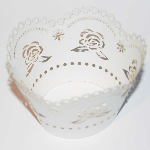 50%,OFF,12pcs,Laser-Cut,Cup,Cake,Wrappers,-,ROSE,12pcs Laser-Cut Cup Cake Wrappers - ROSE
