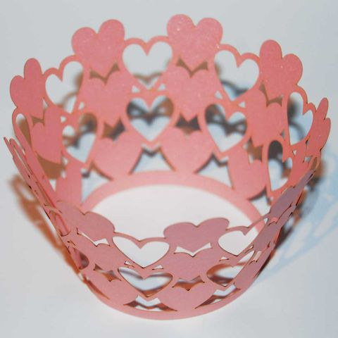 50%,OFF,12pcs,Laser-Cut,Cup,Cake,Wrappers,-,HEARTS,12pcs Laser-Cut Cup Cake Wrappers - Hearts