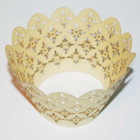 50%,OFF,12pcs,Laser-Cut,Cup,Cake,Wrappers,-,SUNFLOWER,12pcs Laser-Cut Cup Cake Wrappers - SUNFLOWER