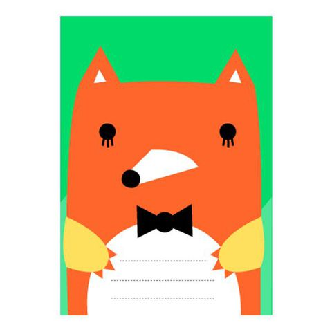 Pocket,Book,-,Fox,by,Noodoll,Pocket Book - Fox by Noodoll
