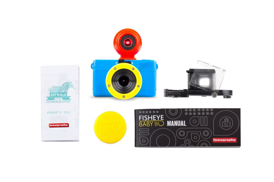 40% OFF LOMO- Fisheye Baby 110 Bauhaus Edition - product images  of