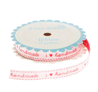 I,Love,Handmade,Ribbon,3,metre,spool,by,Sass,&,Belle,I Love Handmade  Ribbon 3 metre spool