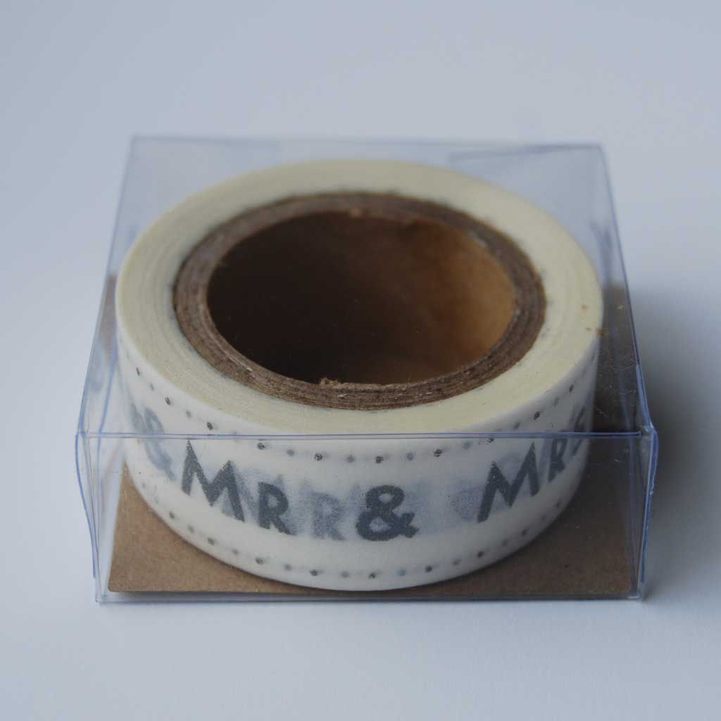 70% OFF MR & MRS paper tape by East Of India - product image