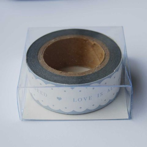 LOVE,IS,ALL,YOU,NEED,paper,tape,by,East,Of,India,LOVE IS ALL YOU NEED paper tape by East Of India