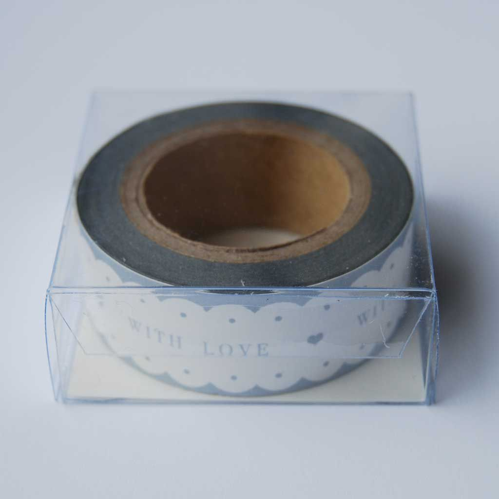 70% OFF WITH LOVE paper tape by East Of India - product image