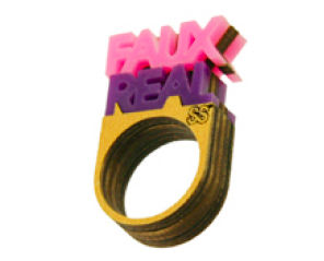 70%,OFF,Faux,Real,Doubled,Sided,Mini,Stacked,Ring,BY,NEIVZ,70% OFF faux real RING NEIVZ