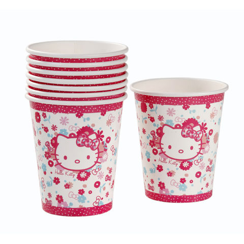 Hello,Kitty,Paper,Cups,by,Talking,Tables,Hello Kitty Paper Cups by Talking Tables