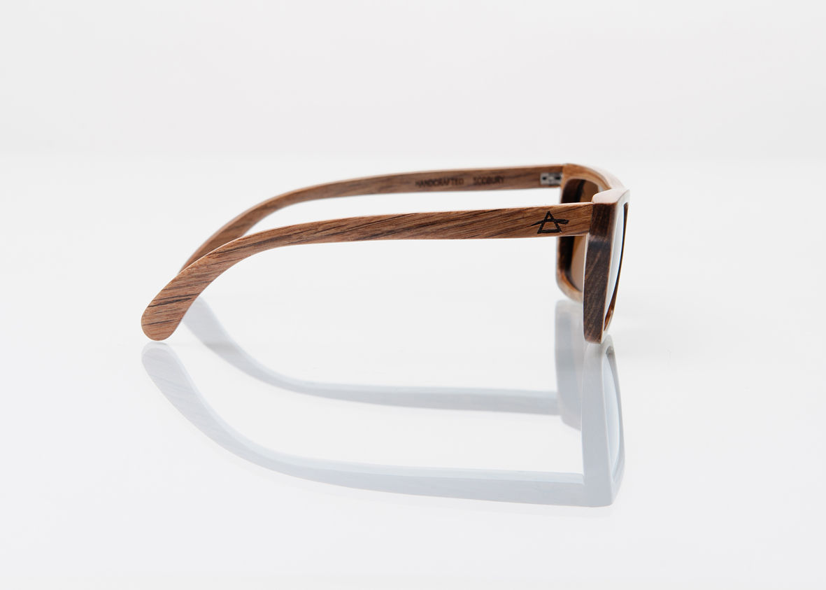 SALE 25% OFF REFRACTOPTICS® SODBURY: BIRCH WOOD SUNGLASSES - product images  of