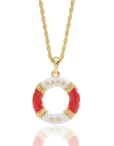 70%,OFF,Save,Me,Nautical,Necklace,by,&,Zena,70% OFF Save Me Nautical Necklace by Me & Zena