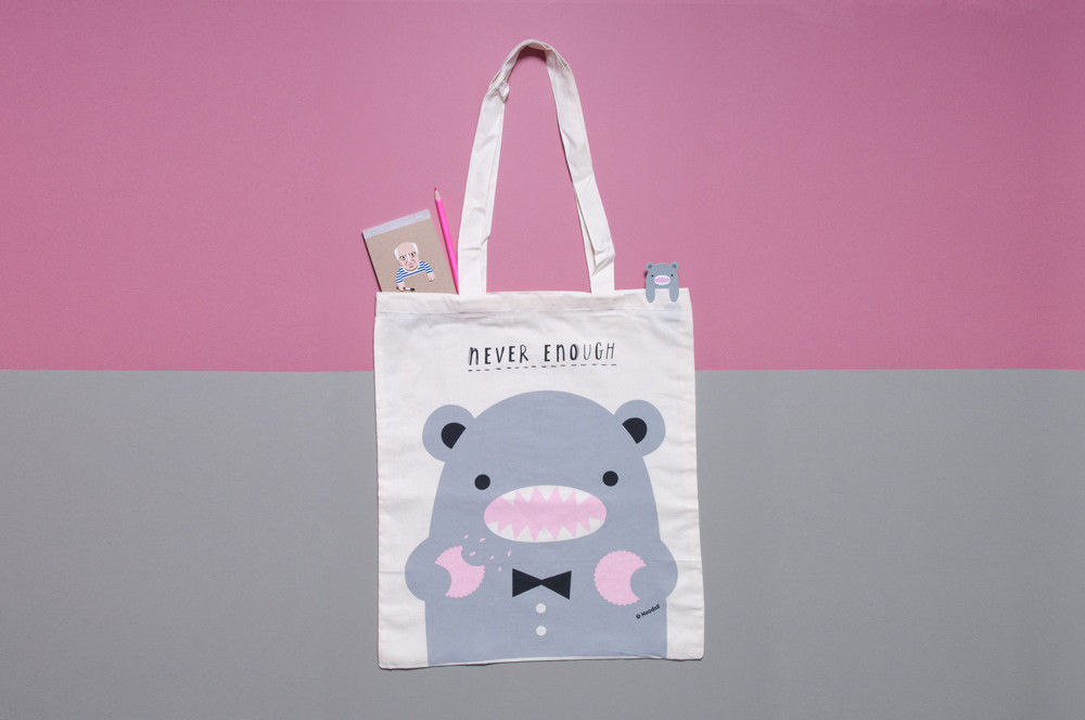 50% OFF Never Enough Eco Tote Bag by Noodoll - product image