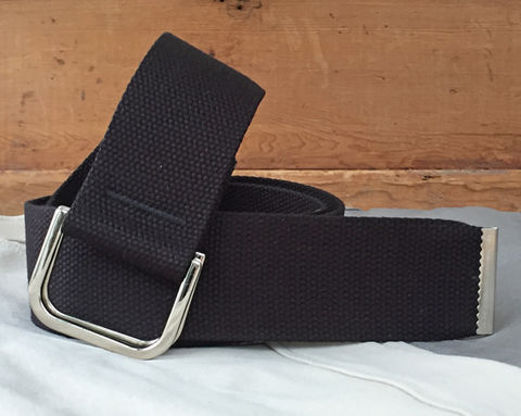Women's,Belt,-,Black,2,Inches,Wide,2 inch wide belt, 2 inch belt, black belt, woman's belt, Belt, black fabric belt, canvas belt, vegan belt, plus size belt