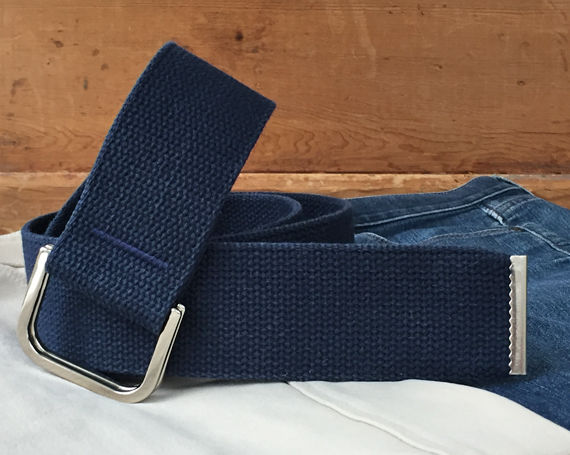 Women's Belt - Navy 2 Inches Wide  - product images