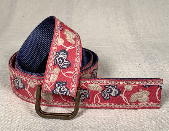 Turkish Ribbon Belt: Geranium - product images