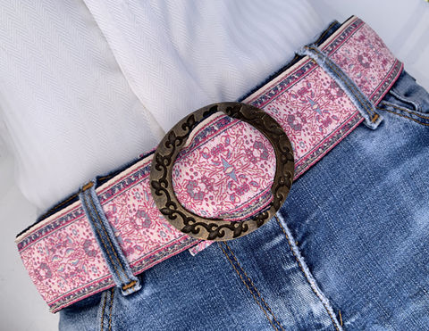 Turkish,Ribbon,Belt:,Pink,Sand,Pink Sand belt, pink belt, beige belt,  woven belt, ribbon belt, turkish ribbon belt,  women's belt, vegan belt