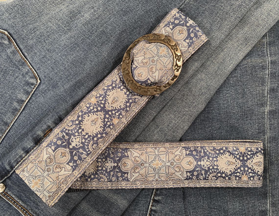 Turkish Ribbon Belt: Starry Night - product images