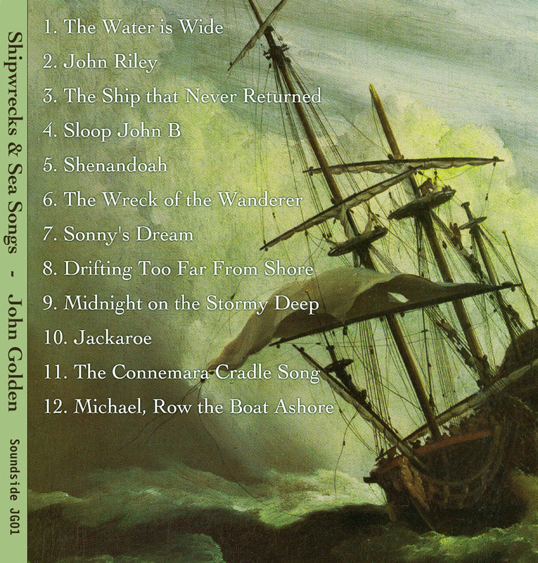 Shipwrecks & Sea Songs CD - product images  of