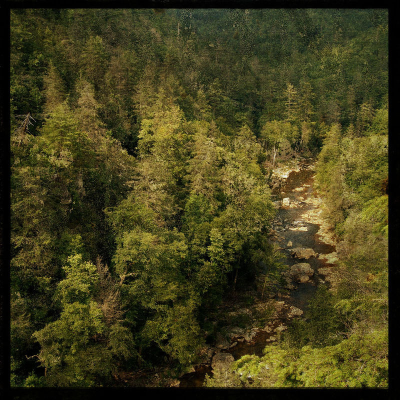 Linville Gorge - 8 in x 8 in Altered Photograph - product images
