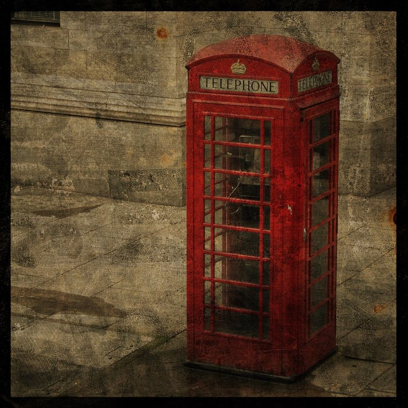 Photography London - London Calling 8 in x 8 in Altered Photograph - product images
