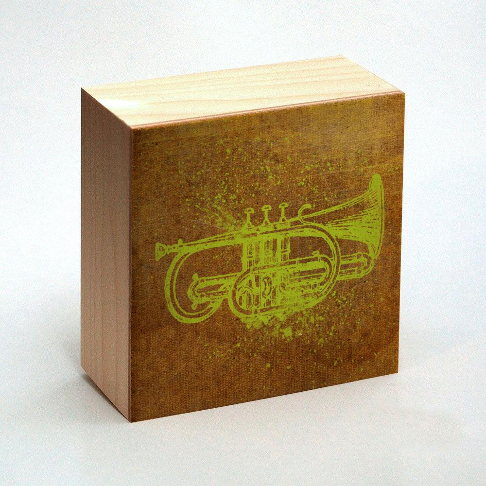 Cornet Art Print Box