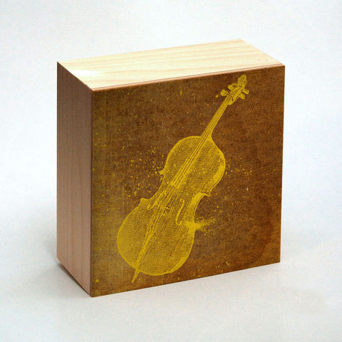 Cello,Art,Print,Box,-,4,in,x,Pick,the,Vintage,illustration,inspired,retro,art,Illustration,Digital,wood,reproduction,mounted,cradled_board,box,vintage_illustration,retro_art,Cello_Art_Print,paper,ink,glue,sealer