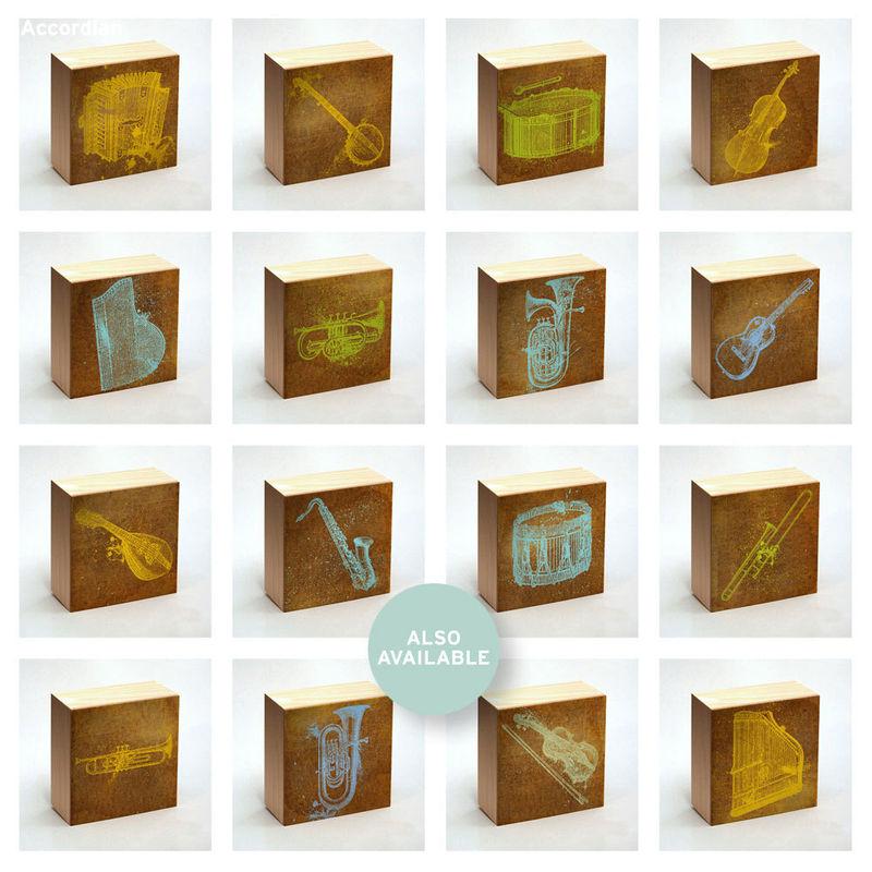 Bass Drum Art Print Box