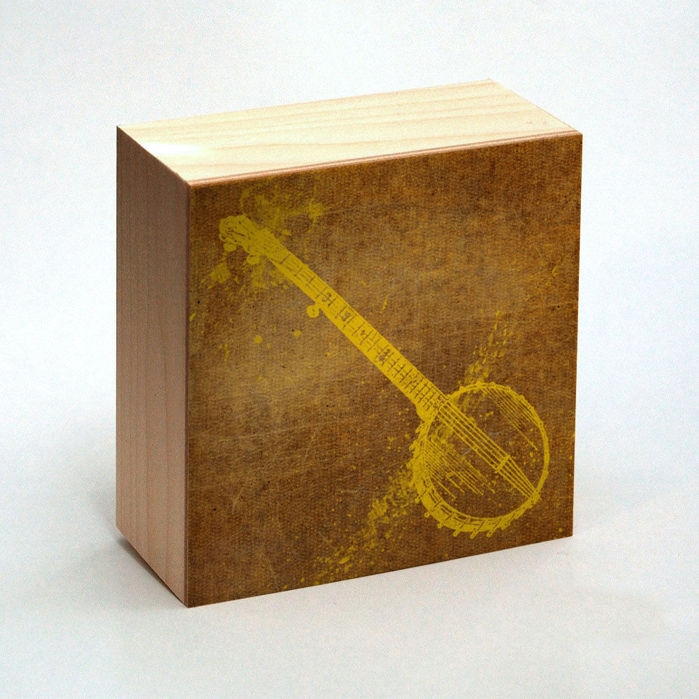 Banjo Art Print Box