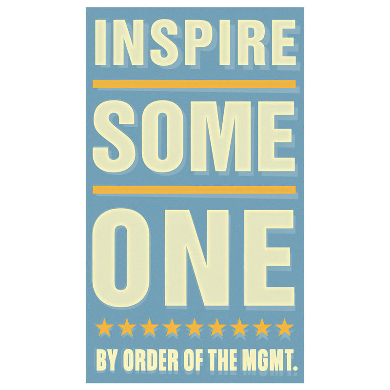 Art for Kids Room - Inspire Someone Print 6 in x 10 in - product images  of
